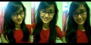 Si Cantik Memakai Kacamata Minus