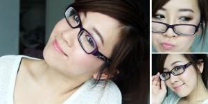 Gaya Gadis Cantik Dengan Kacamata Yang Cool