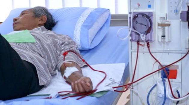 Cuci Darah Akibat Gagal Ginjal